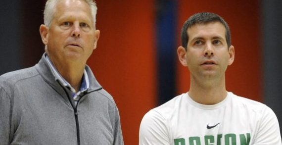 The Boston Celtics offseason has begun with a shakeup in the front office, per report