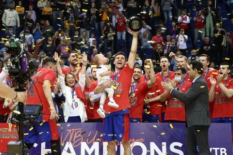 CSKA Moscow wins VTB title