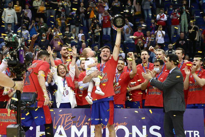 CSKA Moscow wins the VTB League