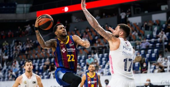 FC Barcelona whips Real Madrid in Game 1 of Spanish League finals