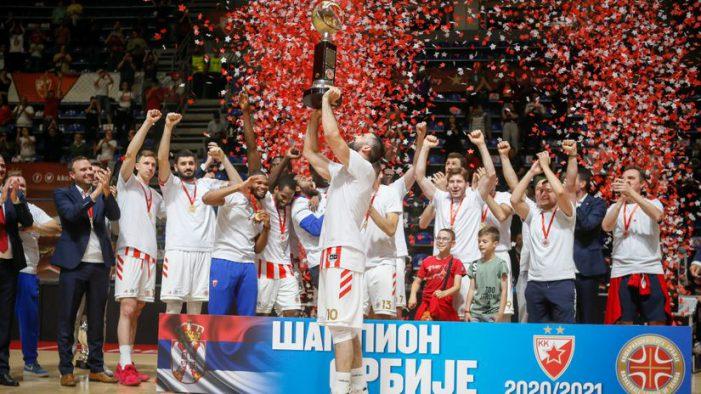 Triple crown for Crvena Zvezda
