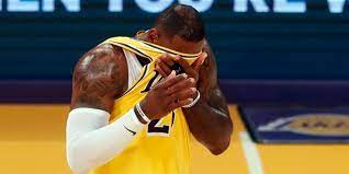 The Lakers are eliminated in the 1st round of the playoffs