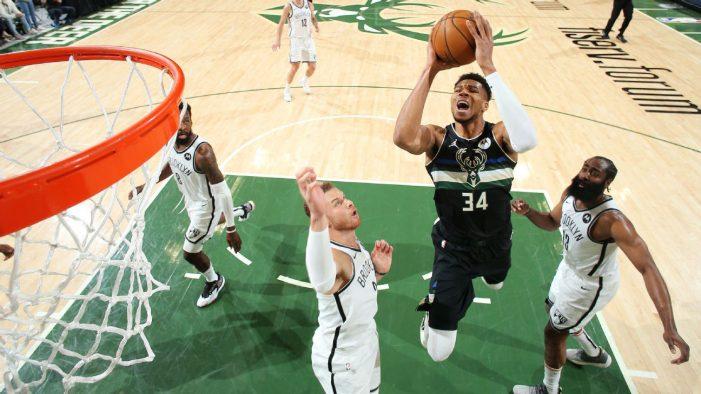 Milwaukee Bucks beat Brooklyn Nets and force game seven