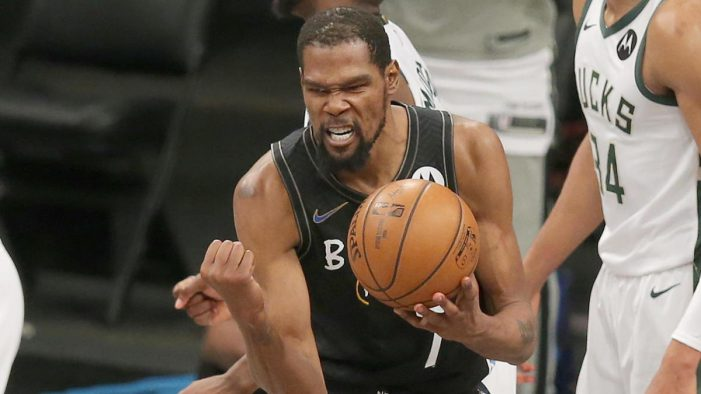 Monster performance by Kevin Durant gives Brooklyn a 3-2 lead over the Bucks