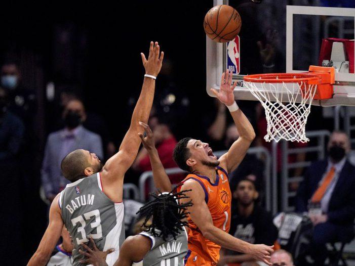 Phoenix Suns win game 4 against LA Clippers