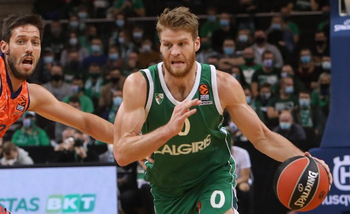 Thomas Walkup switches Euroleague teams, signs with Olympiakos