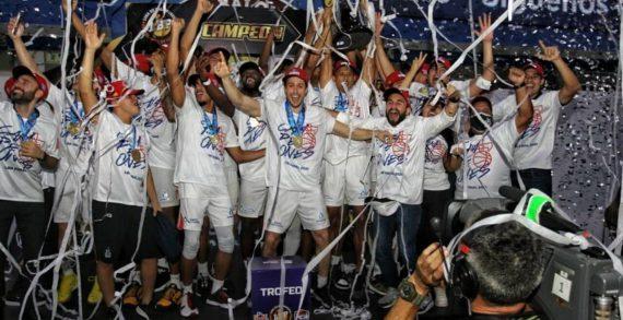 Titanes de Barranquilla undefeated Columbian champion