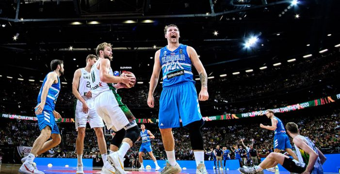 Luka Doncic helps Slovenia to make historic Olympic berth