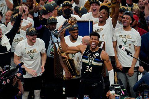 Milwaukee Bucks win NBA title