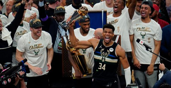 Milwaukee Bucks win NBA title for the first time in 50 years