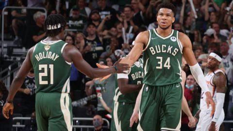 Milwaukee Bucks win game 3