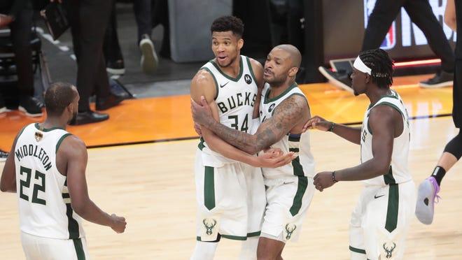 Milwaukee Bucks surge to Game 5 win over Phoenix Suns
