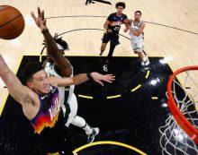 Phoenix Suns take 2-0 lead in NBA finals