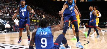 Fans boo Team USA after loss against Australia