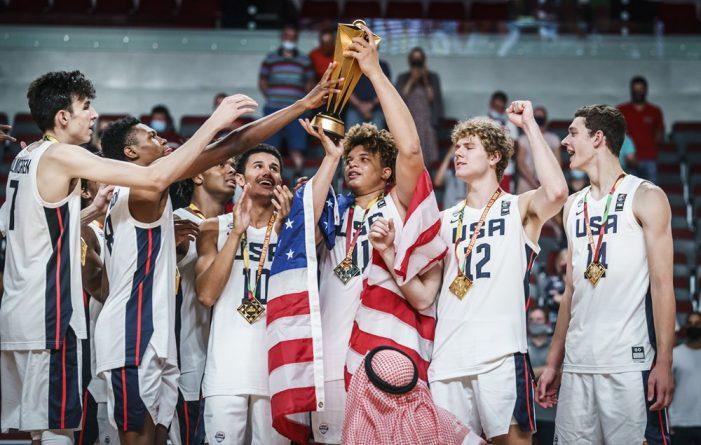 USA wins FIBA U19 Basketball World Cup 2021