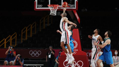 Batum's block sends France to the Olympic Final