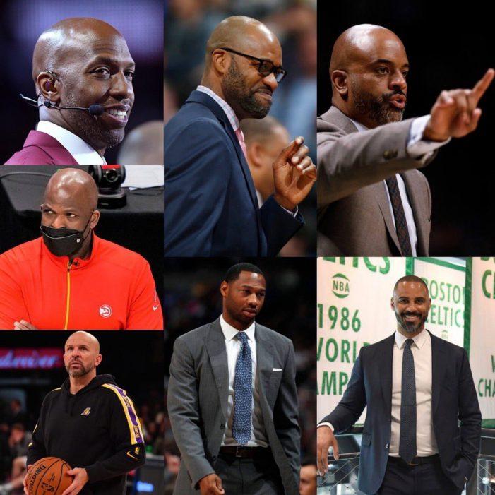 NBA sets a high bar for racial hiring