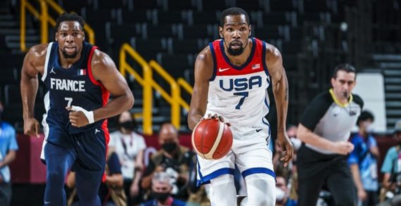 USA wins Olympic gold over France