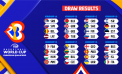 Draw results for FIBA Basketball World Cup 2023 Qualifier games