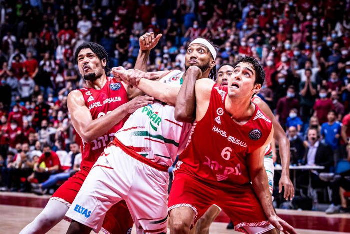 First round of FIBA Basketball Champions League