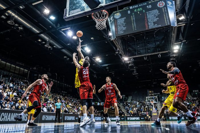 Lots of action in FIBA Basketball Champions League