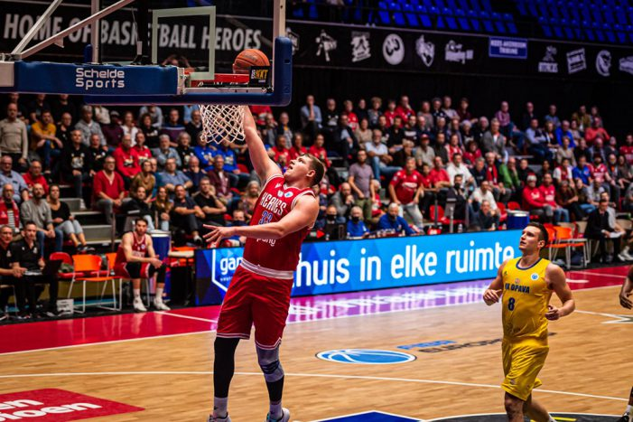 Mixed results for Dutch teams in FIBA Europe Cup