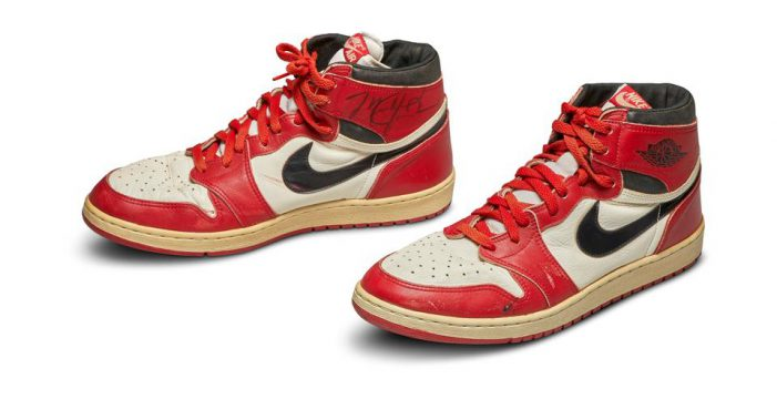 Michael Jordan game-worn rookie sneakers sell for record $1.47M