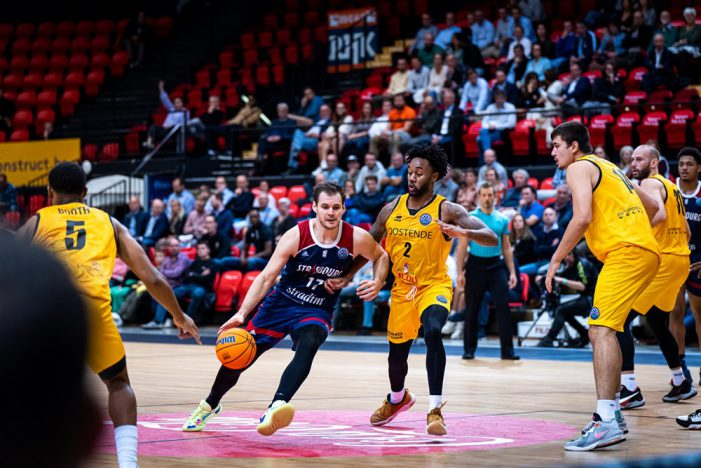 Strasbourg wins fourth consecutive BCL game against Oostende